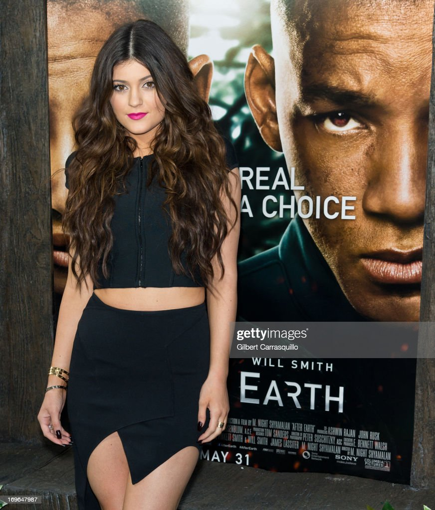 Television personality Kylie Jenner attends the 'After Earth' premiere at Ziegfeld Theater on May 29, 2013 in New York City.