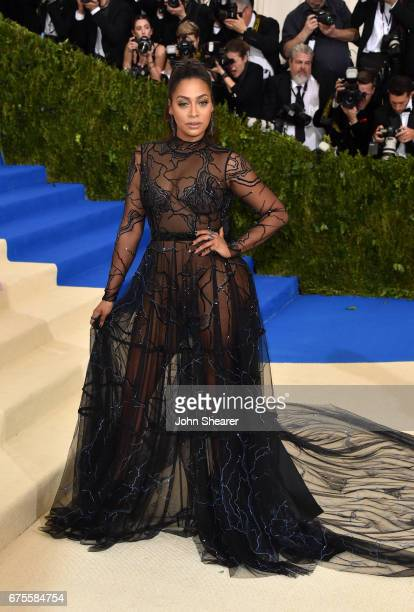 Television personality La La Anthony attends 'Rei Kawakubo/Comme des Garcons Art Of The InBetween' Costume Institute Gala at Metropolitan Museum of...