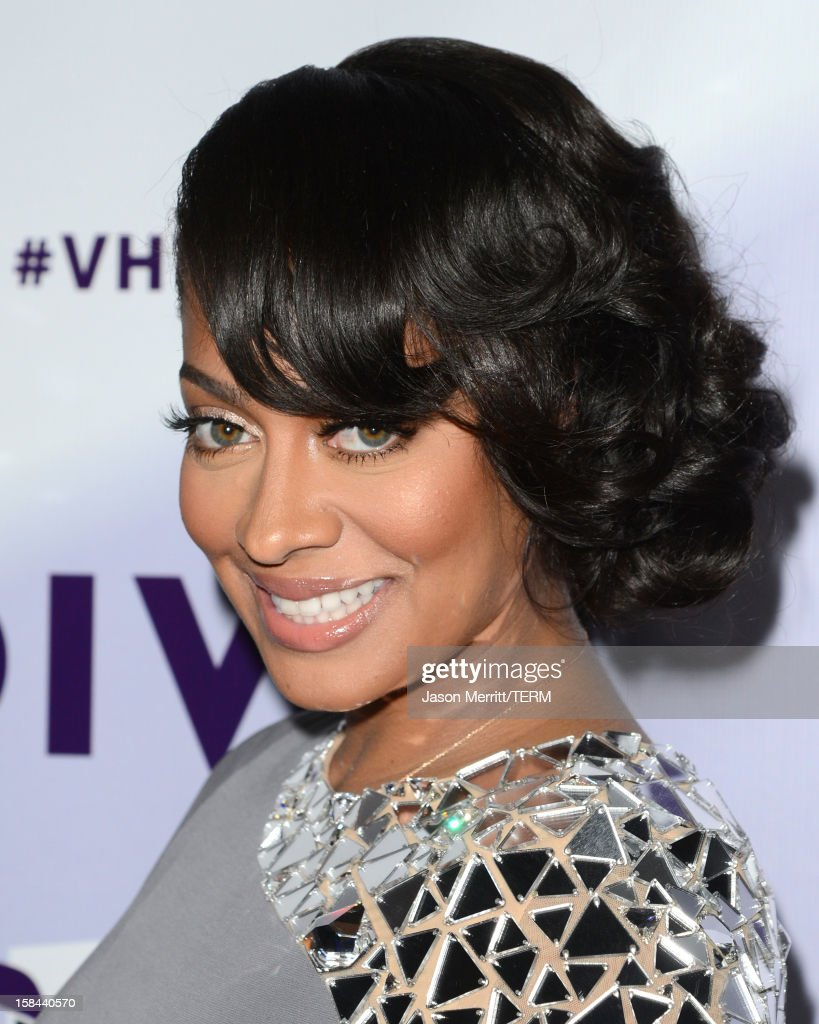 Television personality LaLa Anthony arrives at 'VH1 Divas' 2012 held at The Shrine Auditorium on December 16, 2012 in Los Angeles, California.
