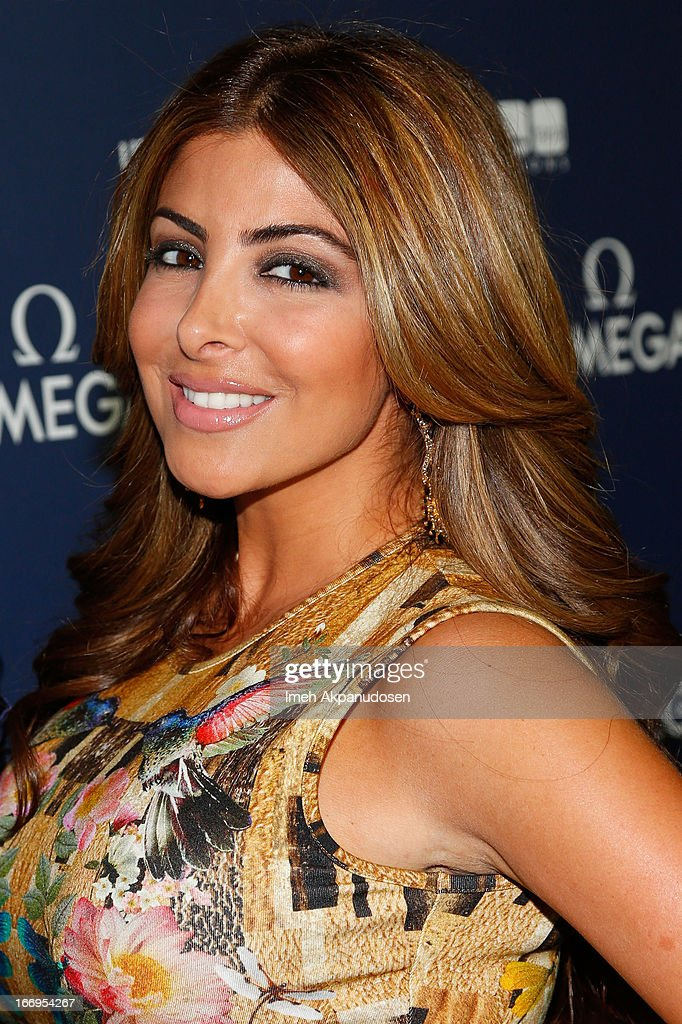 Television personality Larsa Pippen attends the premiere of 'Planet Ocean' at Pacific Design Center on April 18, 2013 in West Hollywood, California.