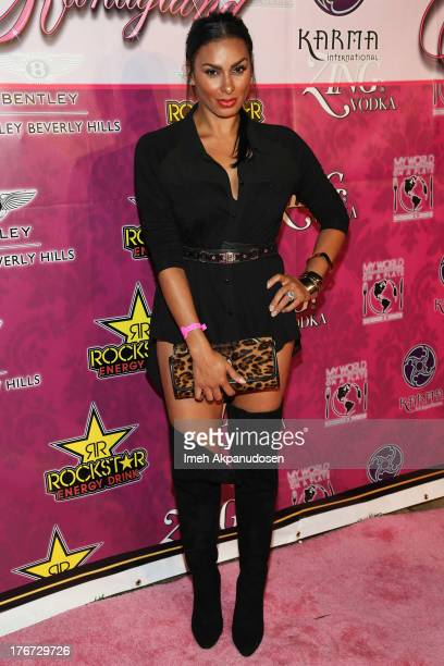 Television personality Laura Govan attends the 8th Annual Kandyland An Evening Of Decadent Dreams on August 17 2013 in Beverly Hills California