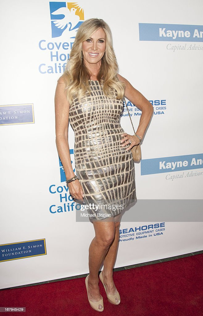 Television personality Lauri Peterson arrives at the Covenant House California 2013 Gala And Awards Dinner at Skirball Cultural Center on May 2, 2013 in Los Angeles, California.