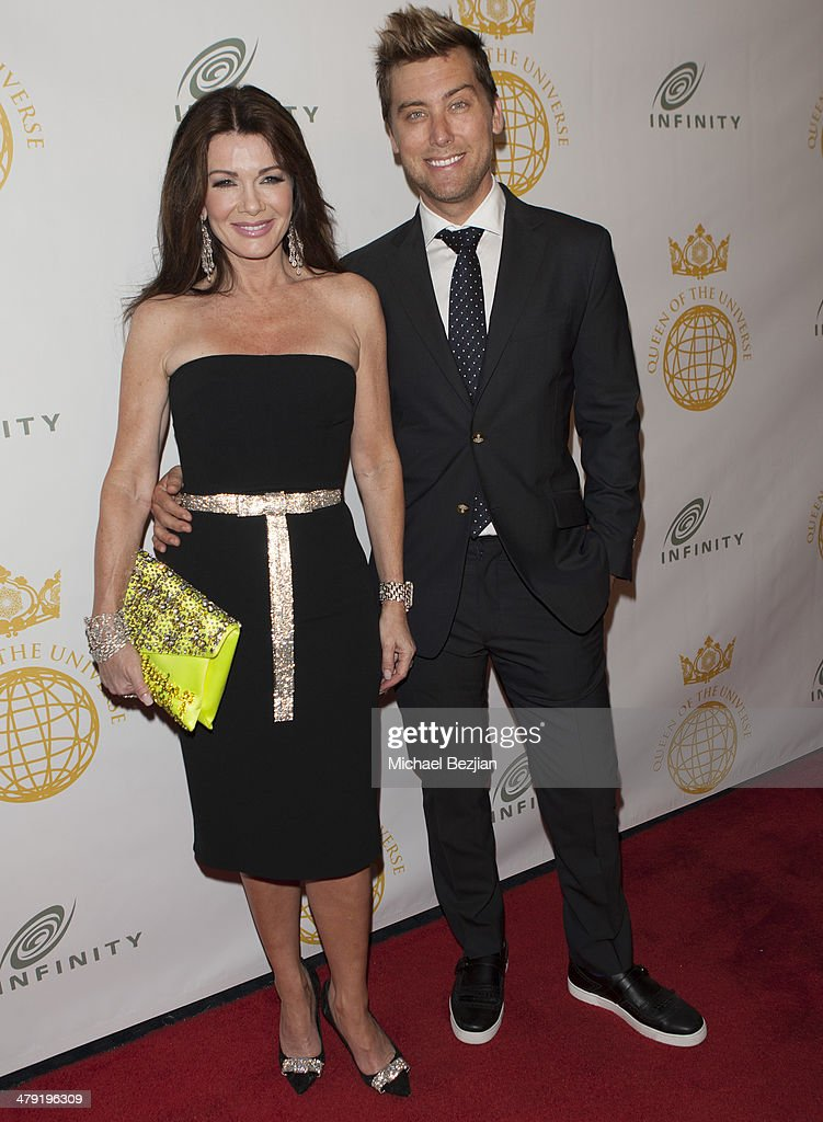 Television personality <a gi-track='captionPersonalityLinkClicked' href=/galleries/search?phrase=Lisa+Vanderpump&family=editorial&specificpeople=6834933 ng-click='$event.stopPropagation()'>Lisa Vanderpump</a> and Singer <a gi-track='captionPersonalityLinkClicked' href=/galleries/search?phrase=Lance+Bass&family=editorial&specificpeople=210566 ng-click='$event.stopPropagation()'>Lance Bass</a> attend Queen Of The Universe International Beauty Pageant at Saban Theatre on March 16, 2014 in Beverly Hills, California.