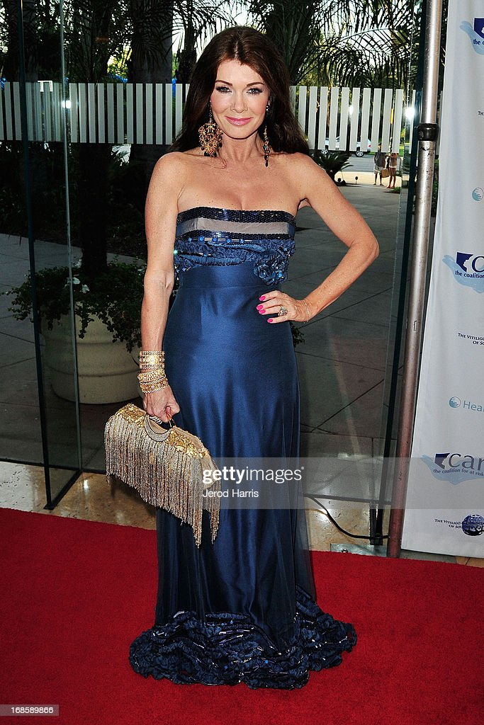 Television personality Lisa Vanderpump arrives at 'Shall We Dance' Annual Gala for the Coalition for At-Risk Youth at The Beverly Hilton Hotel on May 11, 2013 in Beverly Hills, California.