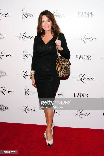 Television personality Lisa Vanderpump arrives at the Beverly Hills Lifestyle Magazine Fall 2012 Launch Party at Kyle by Alene Too on September 27...