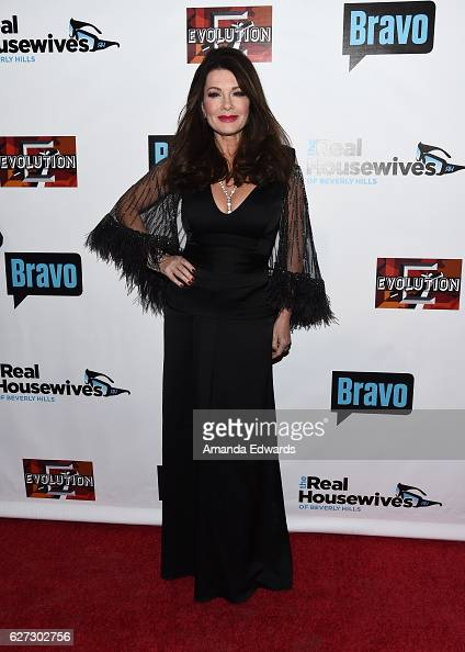 Television personality Lisa Vanderpump arrives at the premiere party for Bravo Networks' 'Real Housewives Of Beverly Hills' Season 7 at Sofitel Los...