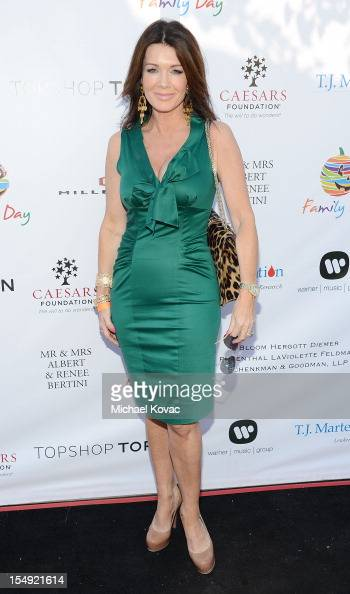 Television personality Lisa Vanderpump arrives at The TJ Martell Foundation 4th Annual Family Day LA on October 28 2012 in Los Angeles California
