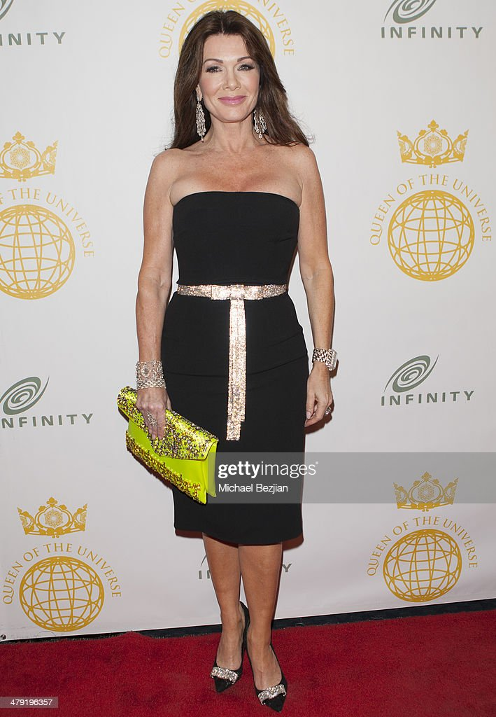 Television personality <a gi-track='captionPersonalityLinkClicked' href=/galleries/search?phrase=Lisa+Vanderpump&family=editorial&specificpeople=6834933 ng-click='$event.stopPropagation()'>Lisa Vanderpump</a> attends Queen Of The Universe International Beauty Pageant at Saban Theatre on March 16, 2014 in Beverly Hills, California.