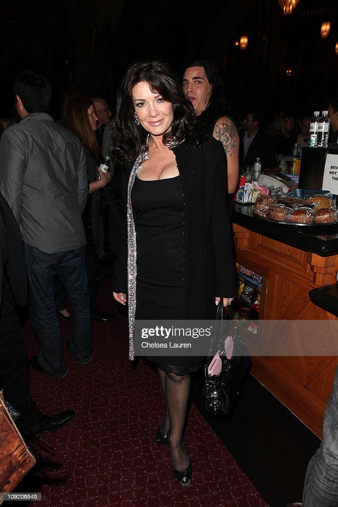 Television personality Lisa Vanderpump attends the Opening Night of 'Rock of Ages' at the Pantages Theatre on February 15, 2011 in Hollywood, California.
