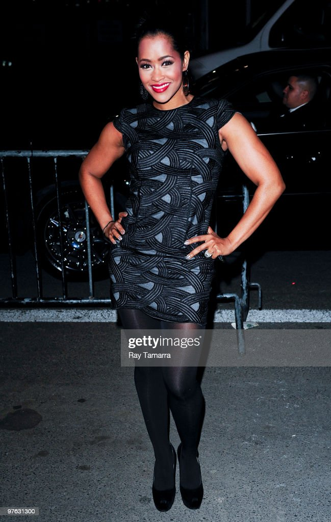 Television personality Lisa Wu Hartwell enters Skylight Studio on March 10 2010 in New York City