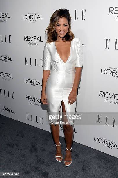 Television personality Liz Hernandez attends ELLE's 21st Annual Women in Hollywood Celebration at the Four Seasons Hotel on October 20 2014 in...