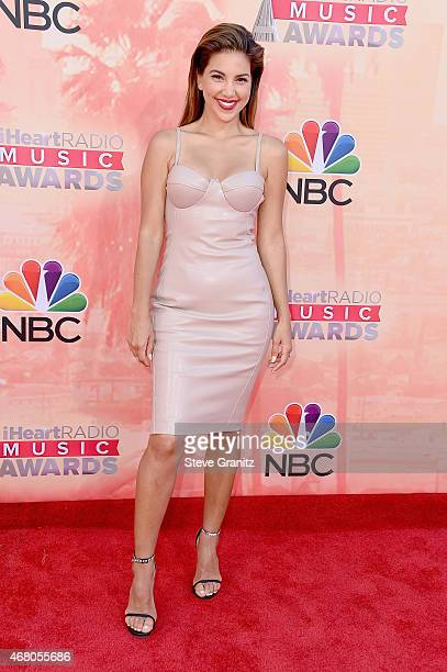 Television Personality Liz Hernandez attends the 2015 iHeartRadio Music Awards which broadcasted live on NBC from The Shrine Auditorium on March 29...