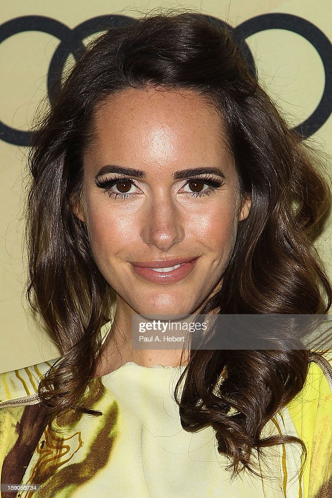 Television personality Louise Roe arrives at the Audi Golden Globe 2013 Kick Off Party at Cecconi's Restaurant on January 6, 2013 in Los Angeles, California.