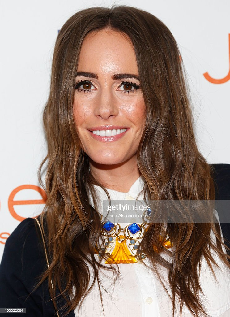 Television personality Louise Roe attends the Joe Fresh at jcp Pop Up event on March 7, 2013 in Los Angeles, California.