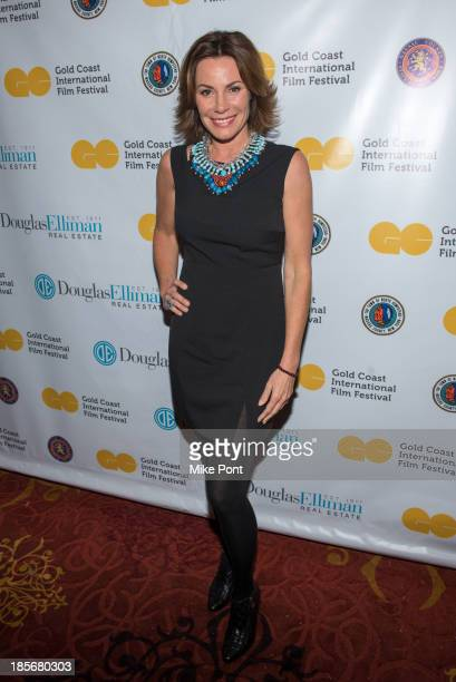 Television Personality LuAnn de Lesseps attends the annual benefit gala during the Third Annual Gold Coast International Film Festival at on October...