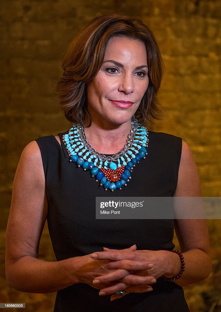 Television Personality <a gi-track='captionPersonalityLinkClicked' href=/galleries/search?phrase=LuAnn+de+Lesseps&family=editorial&specificpeople=4949848 ng-click='$event.stopPropagation()'>LuAnn de Lesseps</a> attends the annual benefit gala during the Third Annual Gold Coast International Film Festival at on October 23, 2013 in Port Washington, New York.