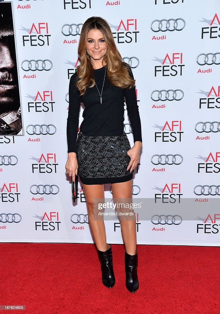 Television personality Maria Menounos arrives at the AFI FEST 2013 Presented By Audi - 'Lone Survivor' premiere at TCL Chinese Theatre on November 12, 2013 in Hollywood, California.
