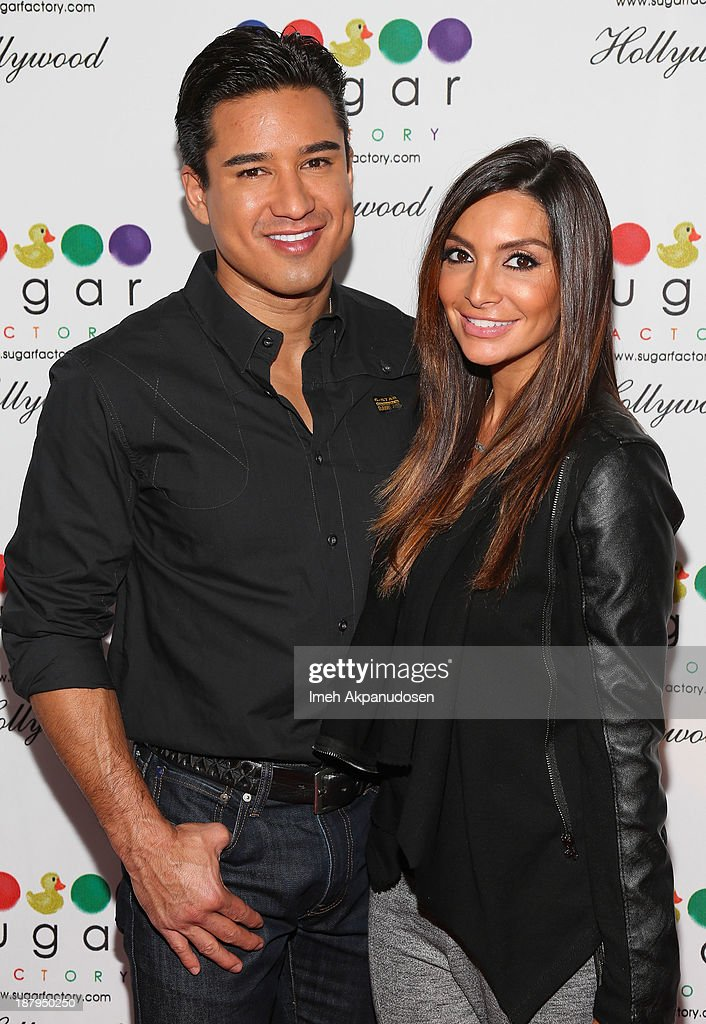 Television personality <a gi-track='captionPersonalityLinkClicked' href=/galleries/search?phrase=Mario+Lopez&family=editorial&specificpeople=235992 ng-click='$event.stopPropagation()'>Mario Lopez</a> (L) and <a gi-track='captionPersonalityLinkClicked' href=/galleries/search?phrase=Courtney+Mazza&family=editorial&specificpeople=5650960 ng-click='$event.stopPropagation()'>Courtney Mazza</a> attend the Sugar Factory Hollywood grand opening at Sugar Factory on November 13, 2013 in Hollywood, California.