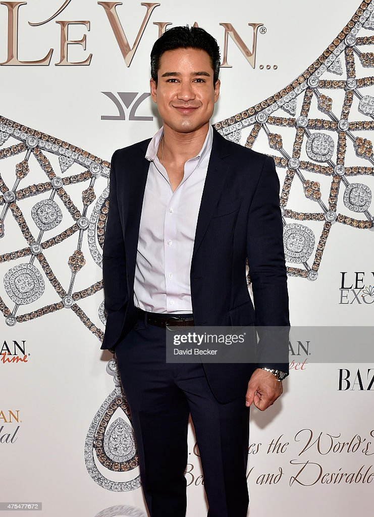 Television personality Mario Lopez arrives at the Le Vian 2016 Red Carpet Revue at the Mandalay Bay Convention Center on May 31 2015 in Las Vegas...