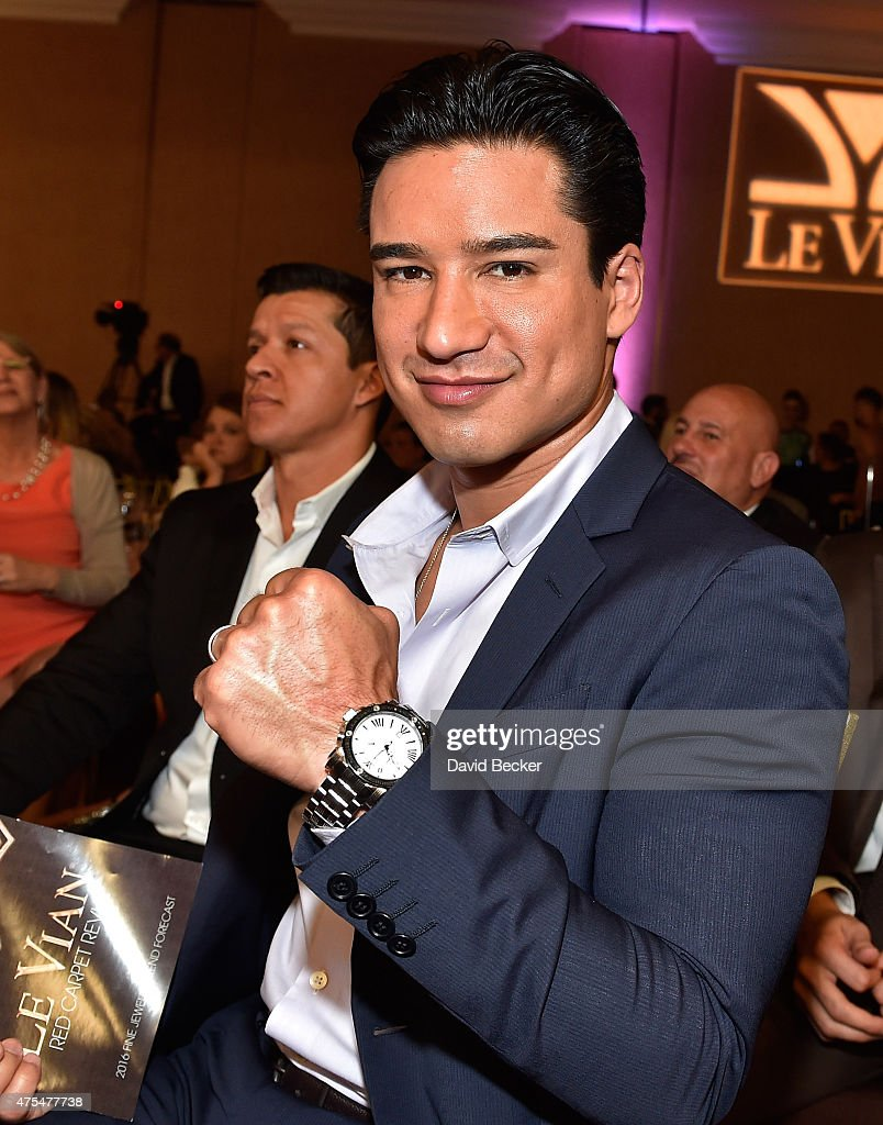 Television personality Mario Lopez attends the Le Vian 2016 Red Carpet Revue at the Mandalay Bay Convention Center on May 31, 2015 in Las Vegas, Nevada.