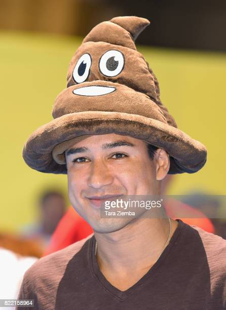 Television personality Mario Lopez attends the premiere of Columbia Pictures and Sony Pictures Animation's 'The Emoji Movie' at Regency Village...