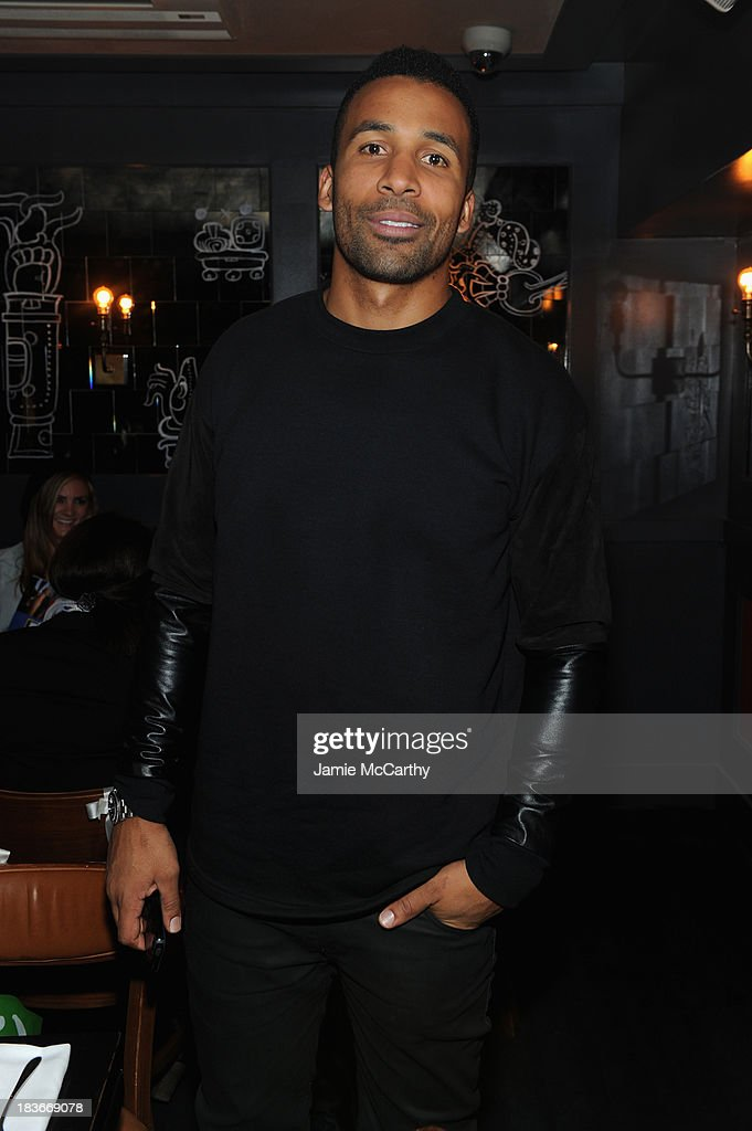 Television personality Matte Babel attends NYLON + Sanuk celebrate the October 'It Girl' issue with cover star Alexa Chung at La Cenita on October 8, 2013 in New York City.