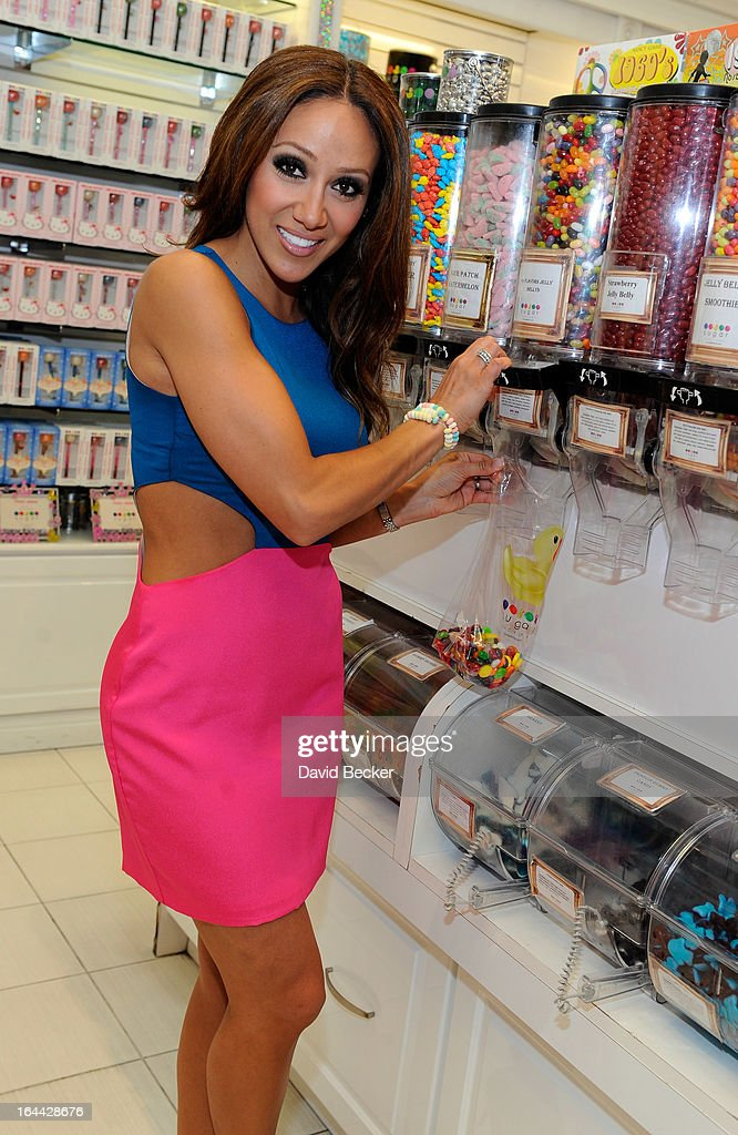 Television personality Melissa Gorga appears at the Sugar Factory at the Miracle Mile Shops at Planet Hollywood Resort & Casino on March 23, 2013 in Las Vegas, Nevada.