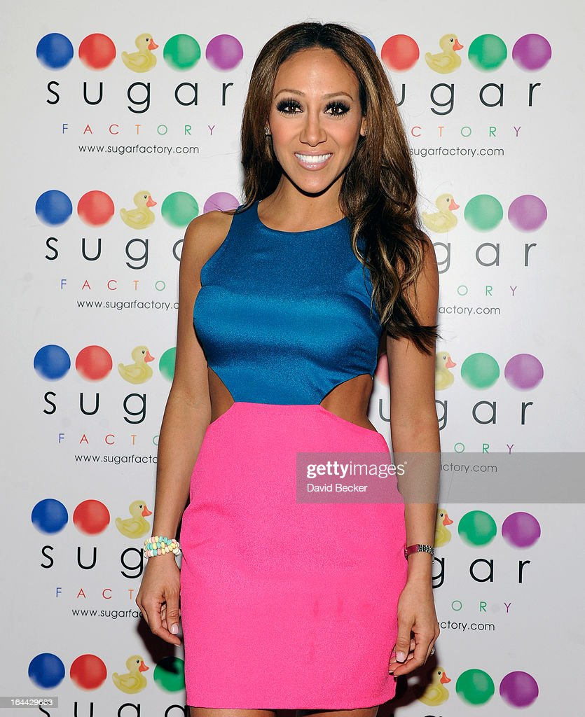 Television personality <a gi-track='captionPersonalityLinkClicked' href=/galleries/search?phrase=Melissa+Gorga&family=editorial&specificpeople=7306775 ng-click='$event.stopPropagation()'>Melissa Gorga</a> arrives at the Sugar Factory at the Miracle Mile Shops at Planet Hollywood Resort & Casino for an autograph signing appearance on March 23, 2013 in Las Vegas, Nevada.