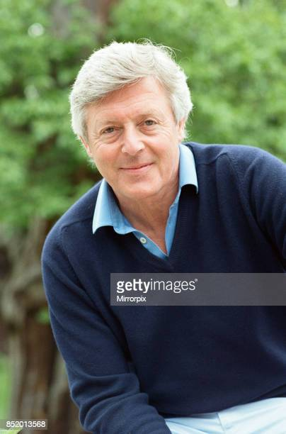 Television personality Michael Aspel 31st May 1988