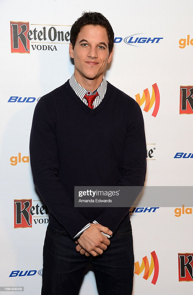 Television personality Mike Manning arrives at the GLAAD Tidings Annual Holiday Celebration at The London Hotel on December 16, 2012 in West Hollywood, California.
