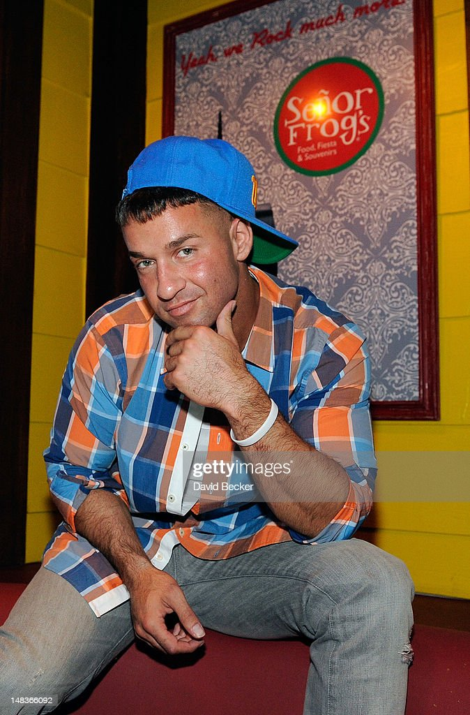 Television personality Mike 'The Situation' Sorrentino appears at Senor Frog's at the Treasure Island Hotel & Casino on July 14, 2012 in Las Vegas, Nevada.