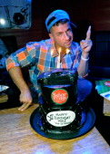 Television personality Mike 'The Situation' Sorrentino celebrates his birthday at Senor Frog's at the Treasure Island Hotel Casino on July 14 2012 in...