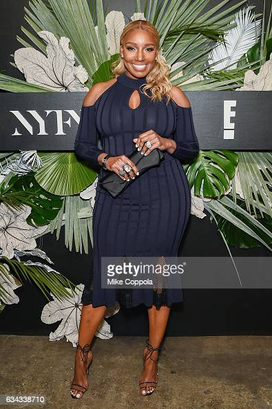 Television personality NeNe Leakes attends ELLE E And IMG Host New York Fashion Week February 2017 KickOff Event on February 8 2017 in New York City