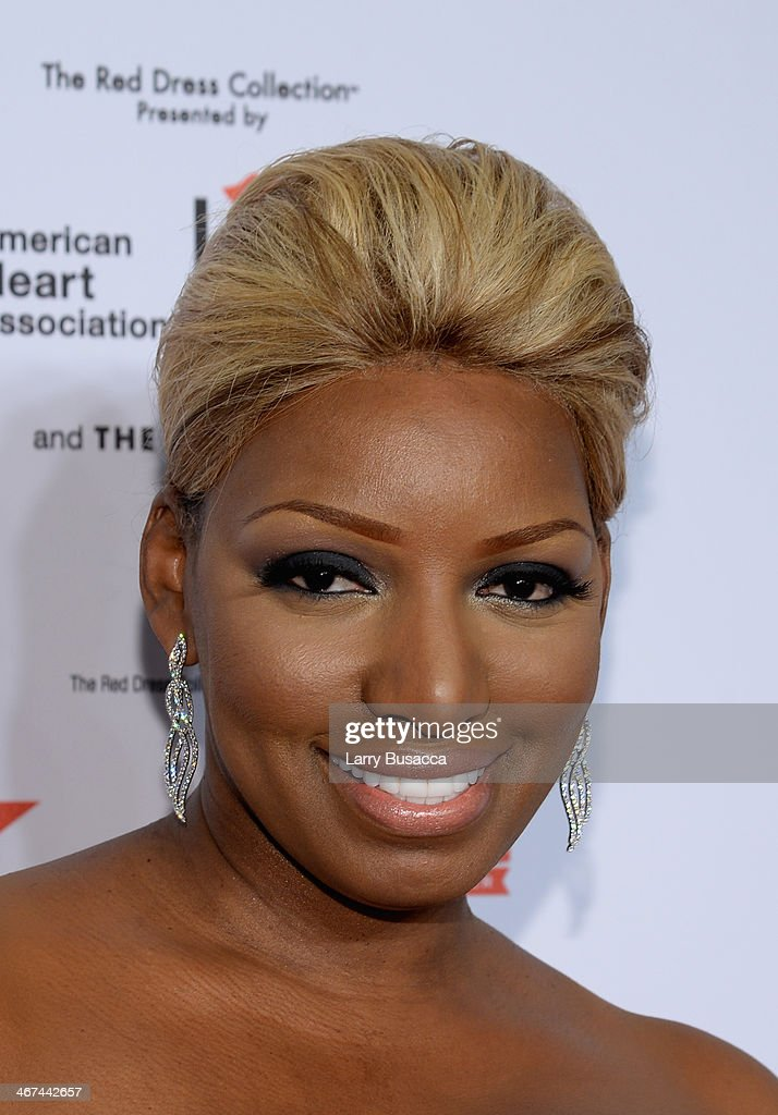 Television personality NeNe Leakes attends Go Red For Women The Heart Truth Red Dress Collection 2014 Show Made Possible By Macy's And SUBWAY Restaurants at The Theatre at Lincoln Center on February 6, 2014 in New York City.