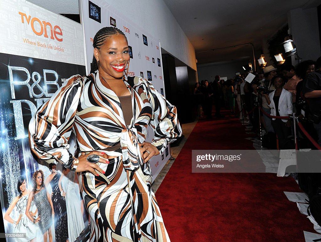 Television personality Nicci Gilbert attends the 'R&B Divas LA' premiere event at The London on July 9, 2013 in West Hollywood, California.