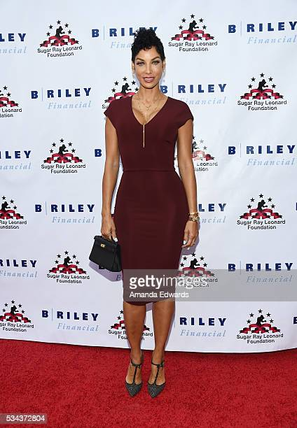 Television personality Nicole Mitchell Murphy arrives at the 7th Annual Big Fighters Big Cause Charity Boxing Night Benefiting The Sugar Ray Leonard...