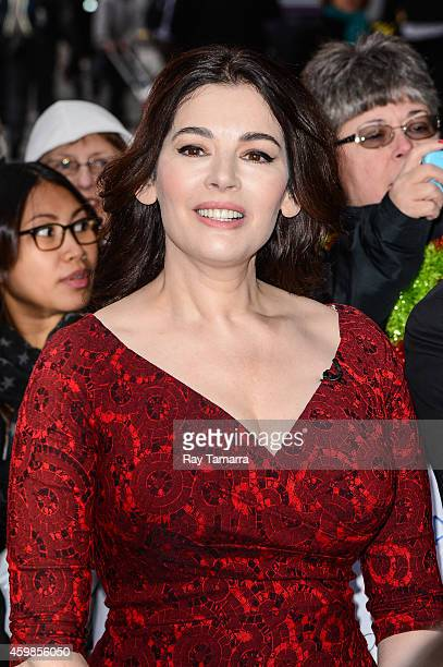Television personality Nigella Lawson enters the 'Good Morning America' taping at the ABC Times Square Studios on December 2 2014 in New York City