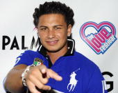 Television personality Paul 'Pauly D' DelVecchio arrives for the 2nd annual 'Love Festival' at The Palms Casino Resort on May 30 2010 in Las Vegas...