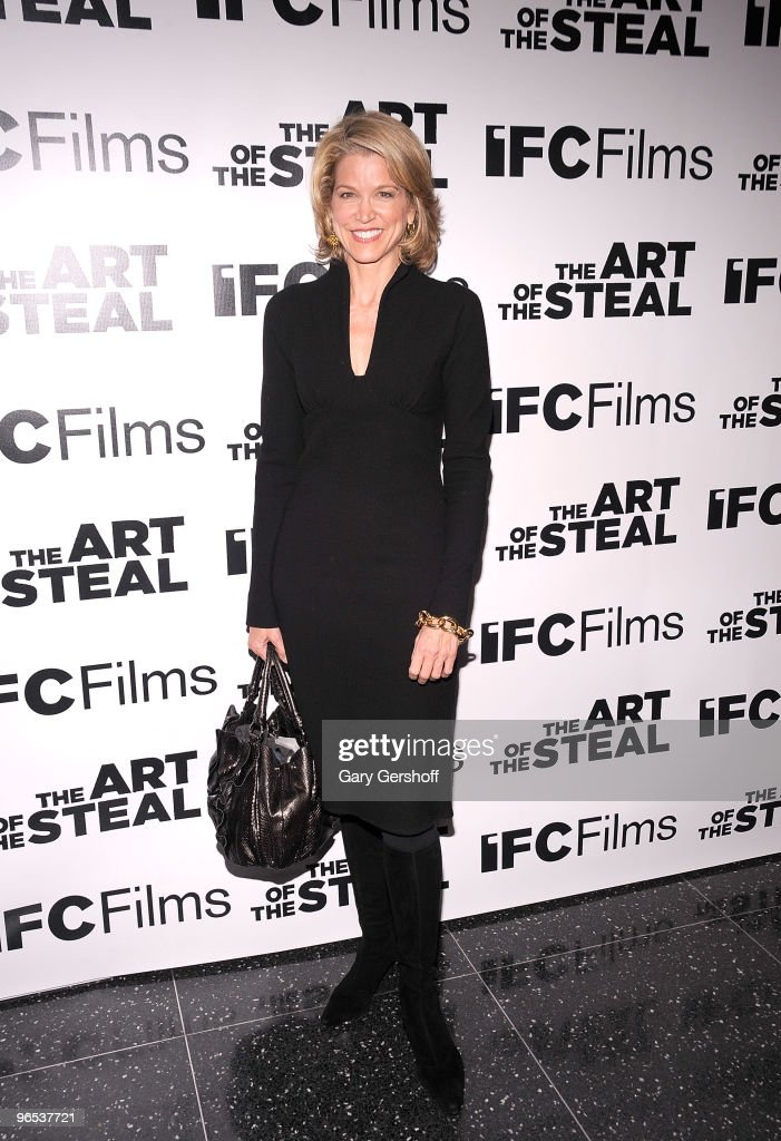 Television personality Paula Zahn attends the 'The Art of The Steal' New York premiere at MOMA on February 9 2010 in New York City