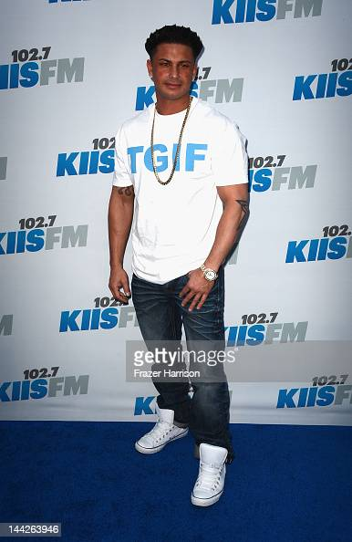 Television Personality Pauly D arrives at 1027 KIIS FM's Wango Tango at The Home Depot Center on May 12 2012 in Carson California