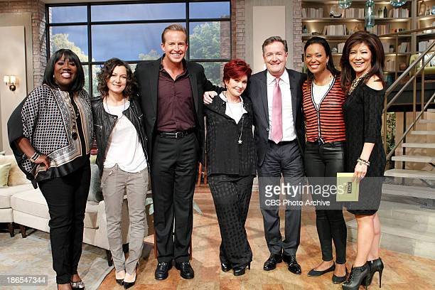 CNN television personality Piers Morgan joins the hosts at the table as a Top Talker to dish on the latest trending topics Thursday October 24 2013...
