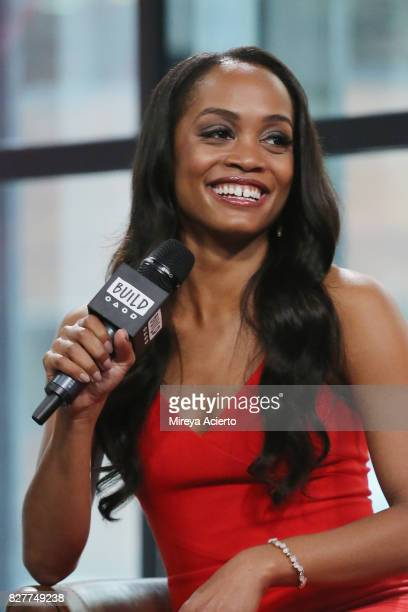 Television personality Rachel Lindsay visits Build to discuss her show 'The Bachelorette' at Build Studio on August 8 2017 in New York City