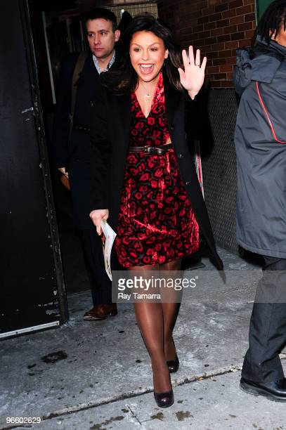 Television personality Rachel Ray visits the 'Good Morning America' taping at the ABC Times Square Studio on February 11 2010 in New York City