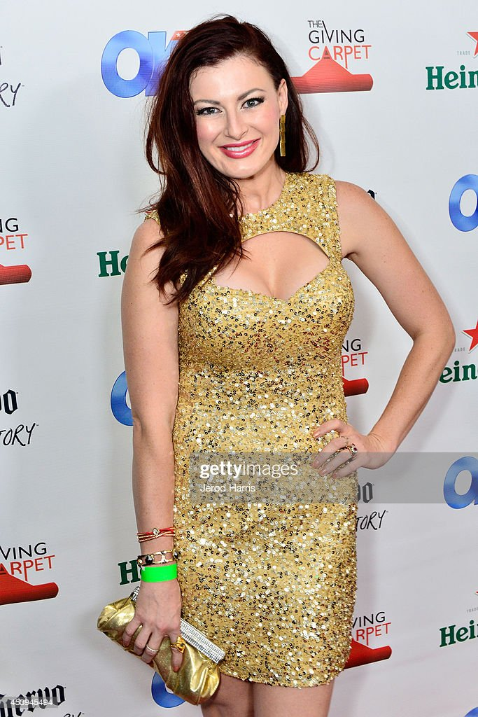 Television personality Rachel Reilly attends OK! TV Awards Party at Sofitel Hotel on August 21, 2014 in Los Angeles, California.