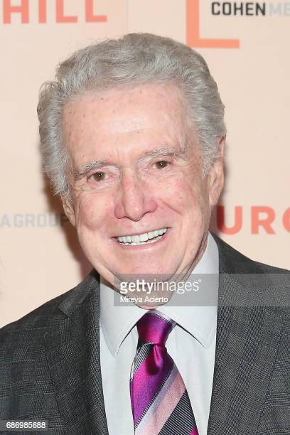 Television personality Regis Philbin attend the 'Churchill' New York premiere at the Whitby Hotel on May 22 2017 in New York City