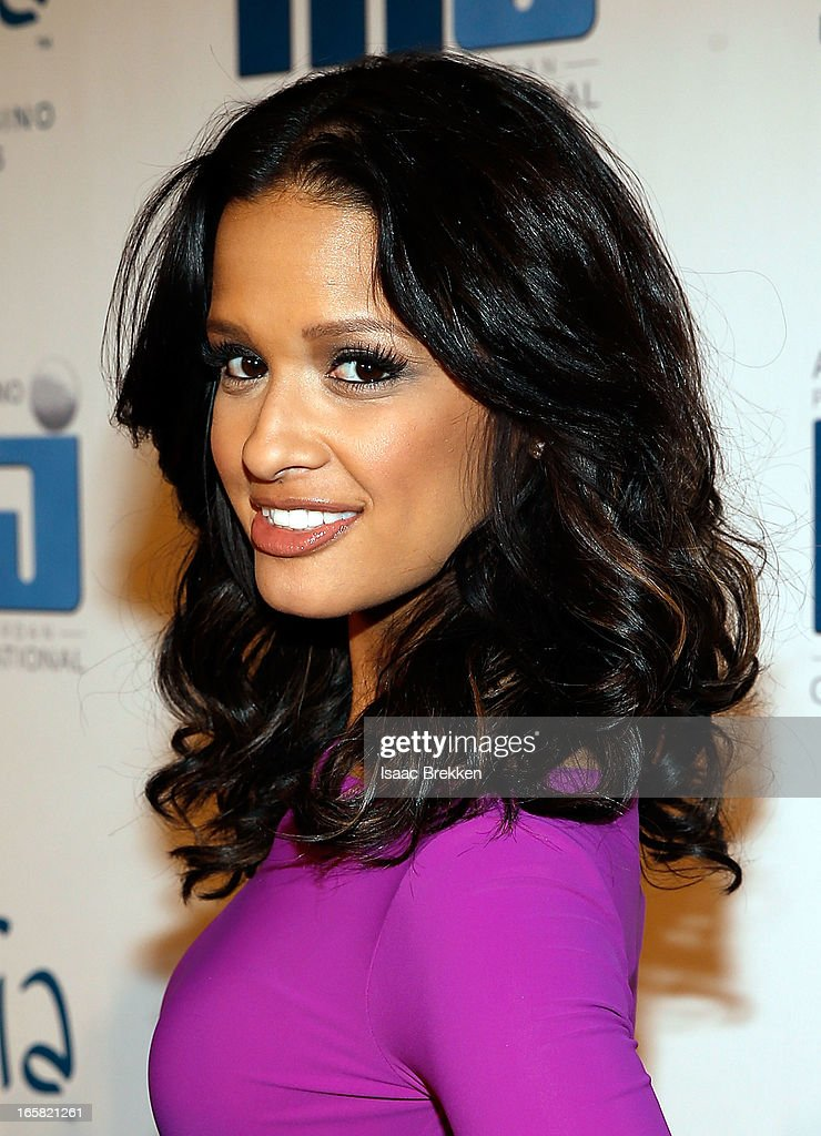 Television personality Roci Diaz arrives at the 12th Annual Michael Jordan Celebrity Invitational Gala At ARIA Resort & Casino on April 5, 2013 in Las Vegas, Nevada.