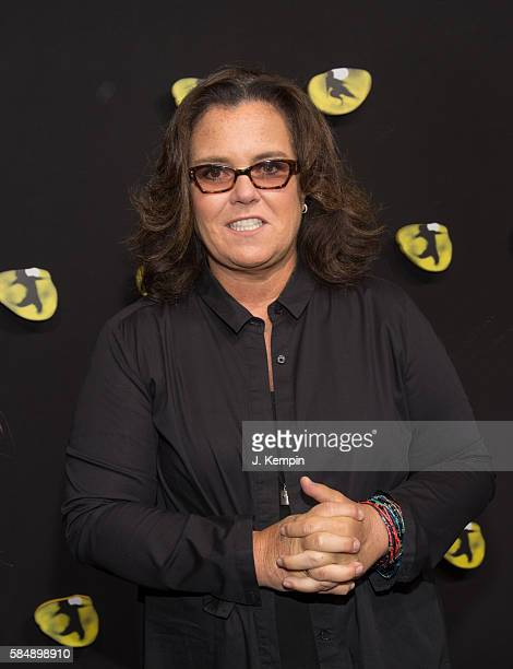 Television personality Rosie O'Donnell attends the 'Cats' Broadway Opening at Neil Simon Theatre on July 31 2016 in New York City