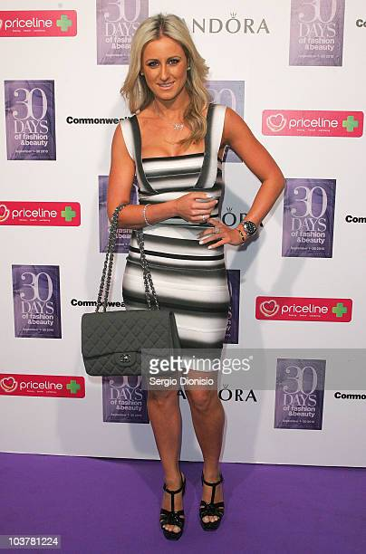 Television personality Roxy Jacenko attends the ACP Magazine's launch of '30 Days of Fashion and Beauty' at The Entertainment Quarter on September 2...