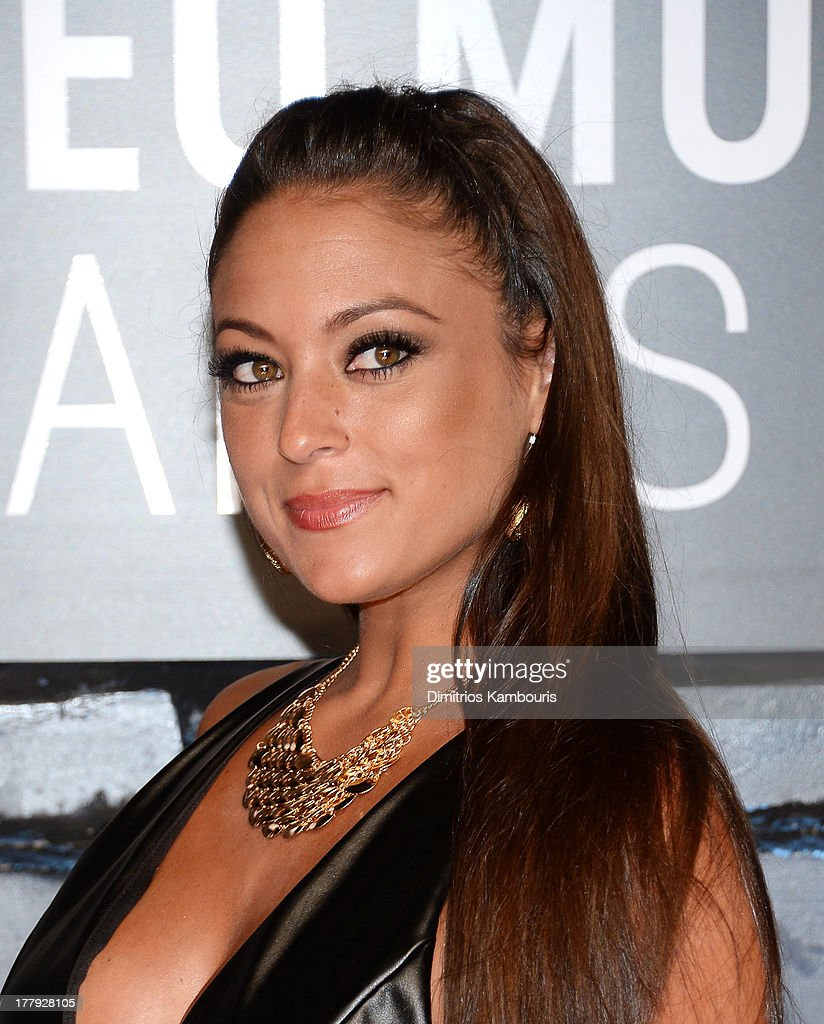 """Television personality Sammi """"Sweetheart"""" Giancola attends the 2013 MTV Video Music Awards at the Barclays Center on August 25, 2013 in the Brooklyn borough of New York City."""