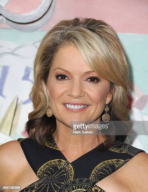 Television personality Sandra Sully attends the Audi Hamilton Island Race Week launch at North Bondi Fish on March 31 2015 in Sydney Australia